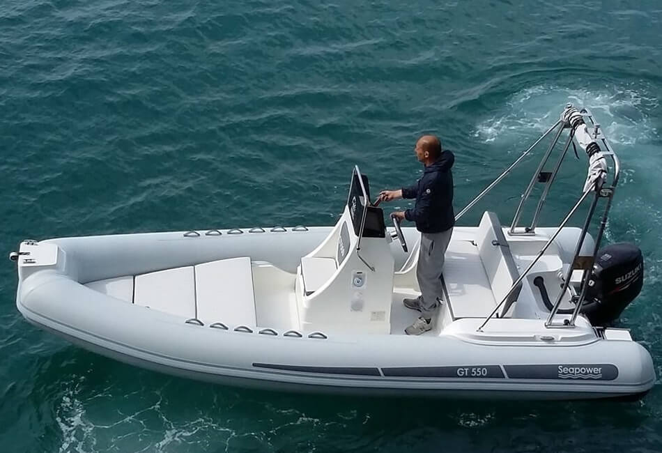 18.4 ft Seapower GT550