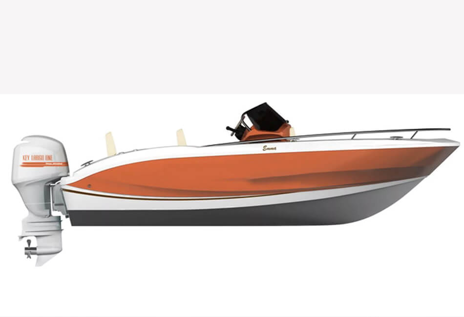 19.7 ft Sessa KL One 40HP