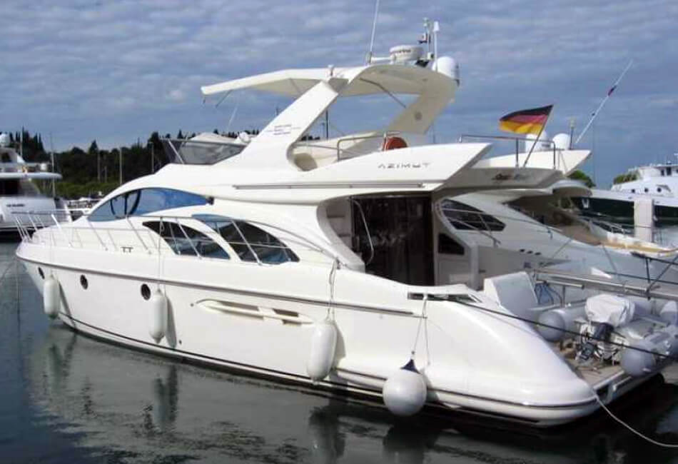 50 ft Azimut Fly